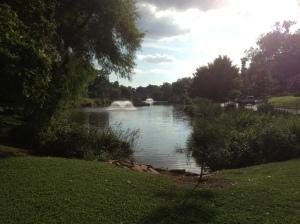 Swan Lake, Tulsa, Oklahoma
