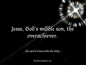 Jesse, God's middle son