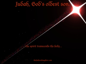 Judah, God's oldest son.