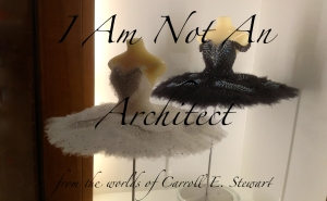 I am not an architect banner