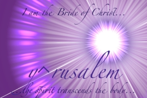 The Bride of Christ...The Father's Daughter.com
