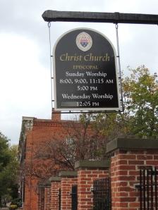 Christ Church---Old Towne Alexandria, Virgina