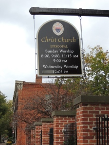 Christ Church---Old Towne Alexandria, Virgina