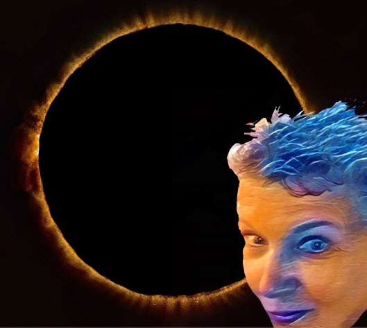 selfie and eclipse 2