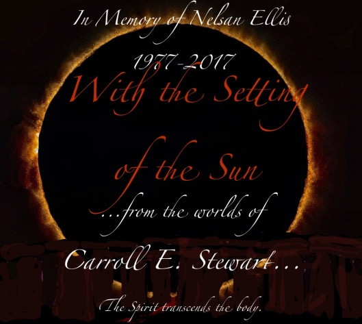 with the setting of the sun:in memory of