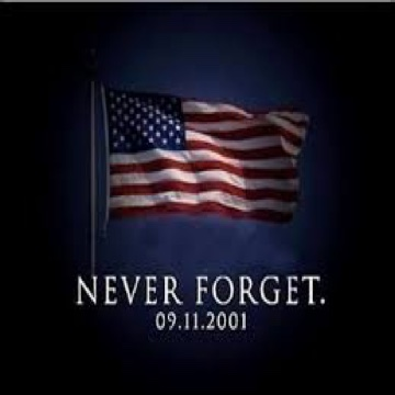 Flag Never Forget 9-11-01